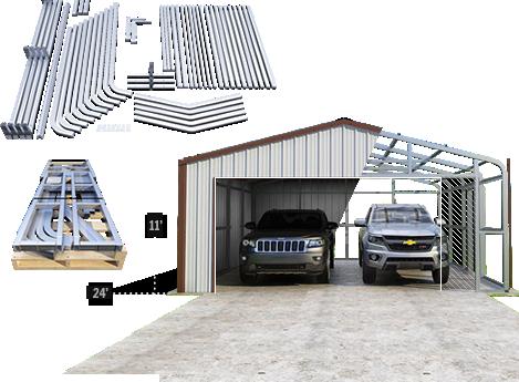 Garage Or Building Building Kits Building A Shed Steel Buildings Diy Garage Kits