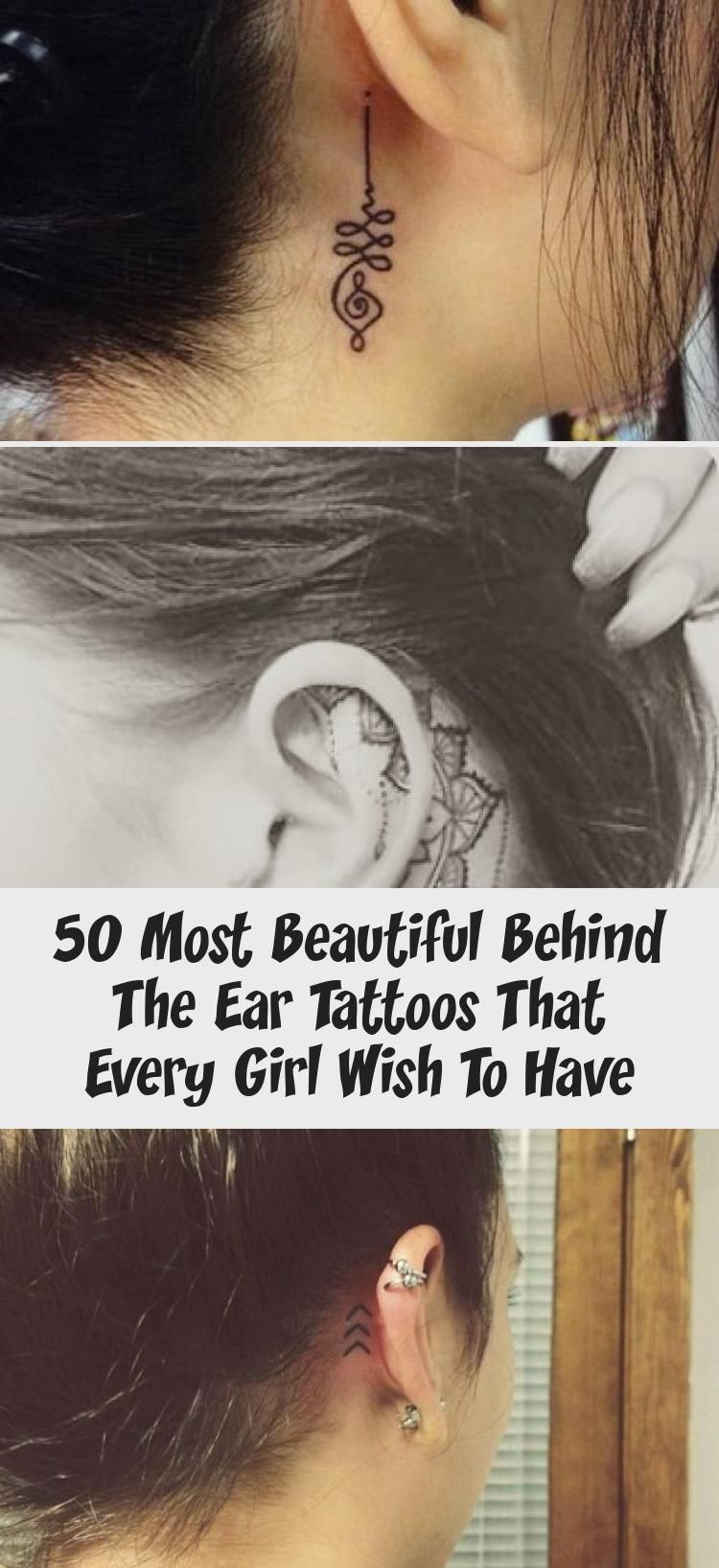 Ear tattoos. Pic by