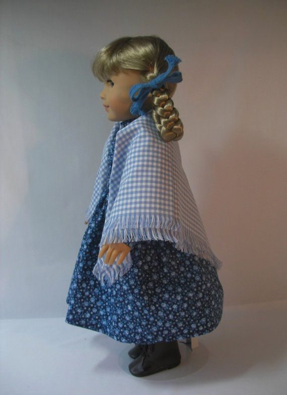 1854-101-1S Dress and Shawl for Kirsten by terristouch on Etsy