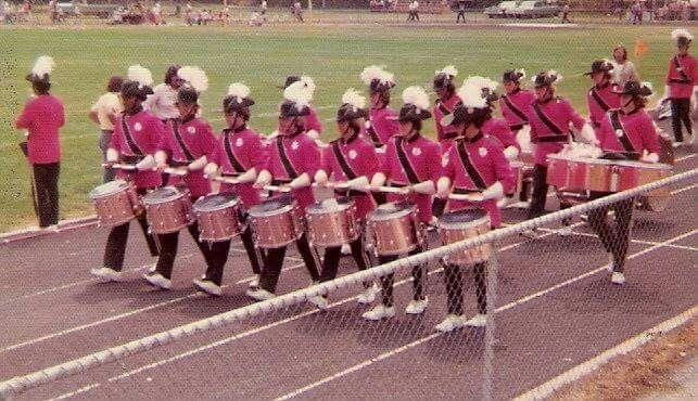 1974 Santa Clara Vanguard Drum Corps International Marching Band Winter Guard