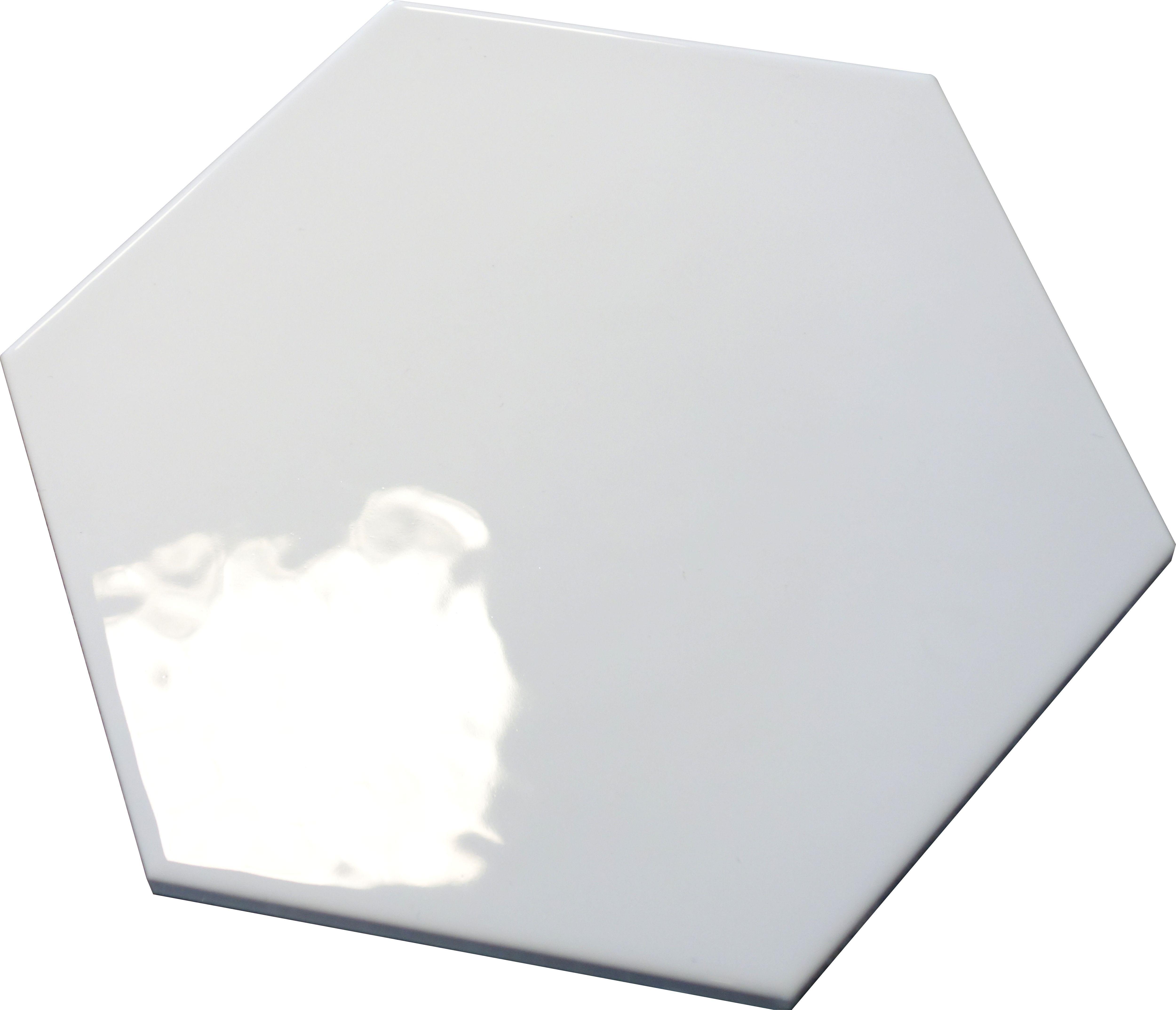 Plytki Heksagonalne Biale 20x17 Kaflando Pl Blanco Hexa Computer
