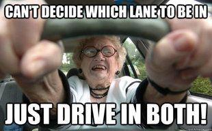 old woman meme