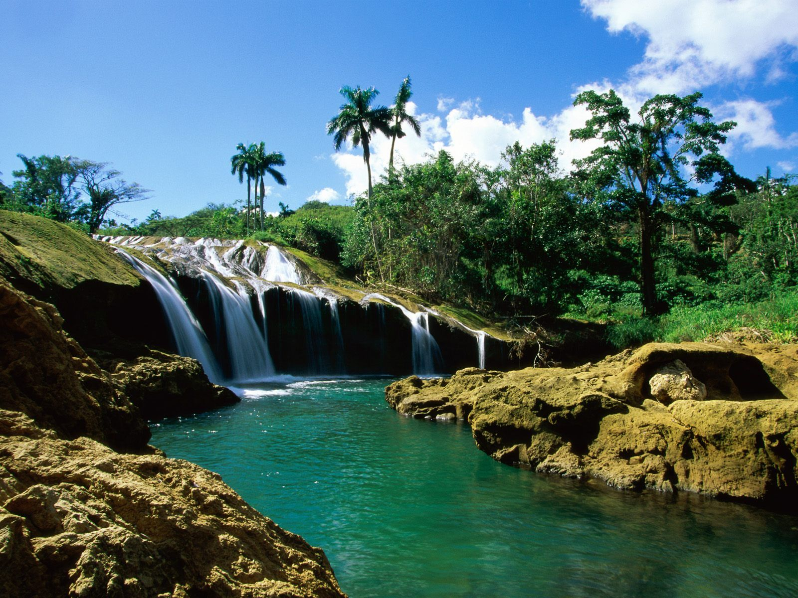 nature el nicho falls, sierra de trinidad, cuba – wallpapers | hot