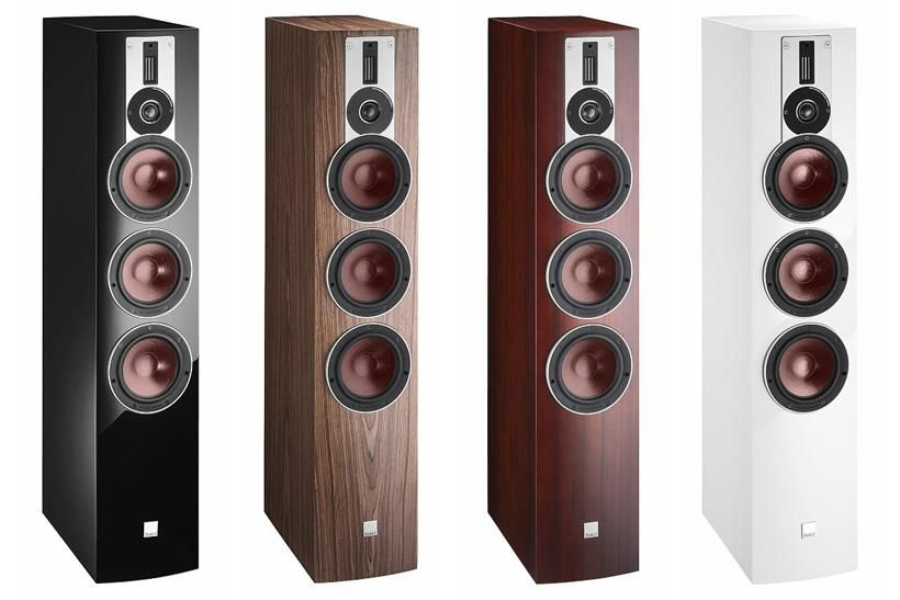 Sidste nye High end audio audiophile speakers DALI Rubicon 8 | The Ear | The ZL-99