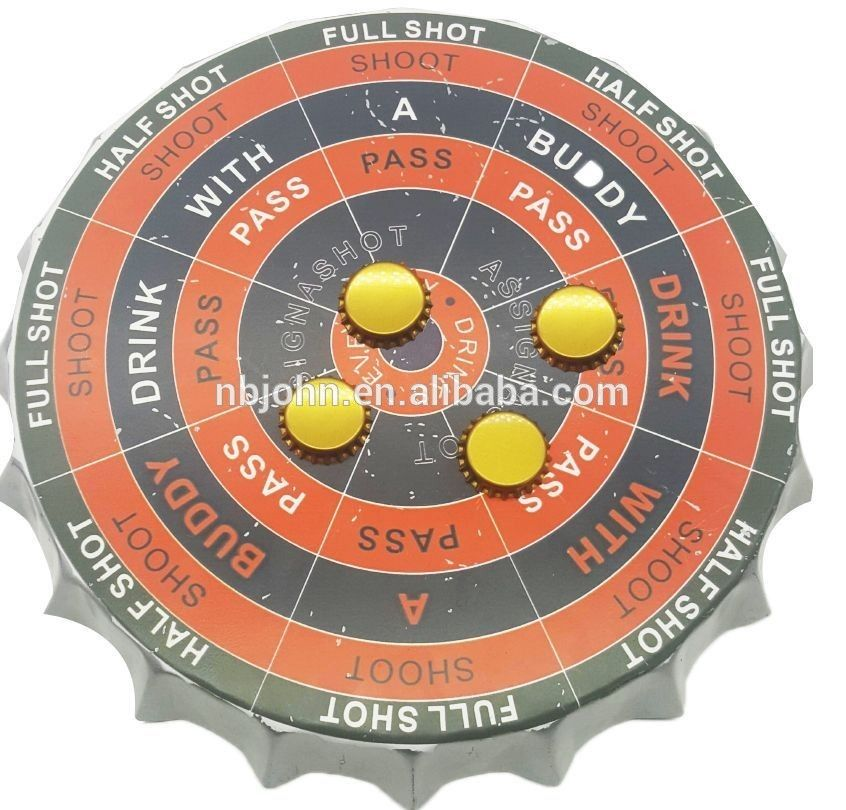 Bottle Cap Shaped Magnetic Darts Game With Images Darts Darts Game Indoor Sports