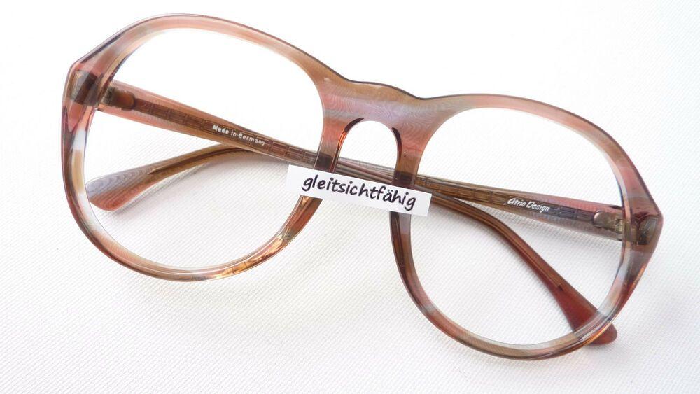 Brille Extrem Gestell Kunststoff Rand Rund Schwarz Silber Luxusmarke Idc Size M Brillenfassungen Damen-accessoires