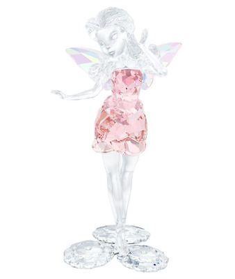 Swarovski Disney Fairies Rosetta Pink Clear Crystal Authentic Mib 5041755 Swarovski Crystal Figurines Disney Fairies Disney Figurines