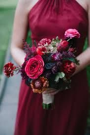 autumn bouquet with red and blue - Google Search