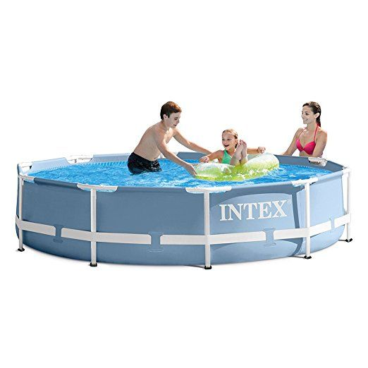 Intex 10ft X 30in Prism Frame Pool Set With Filter Pump Easy Set Pools Intex Above Ground Swimming Pools