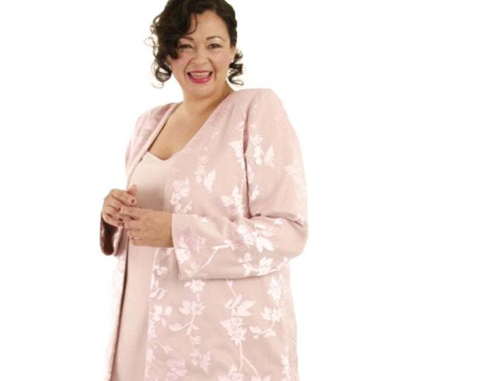 Plus Size Mother Of The Bride Dress With Jacket, Jacket