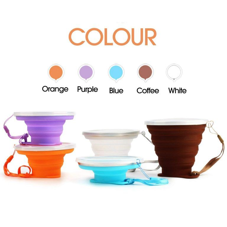 Our drinking cups are make form foodgrade silicone