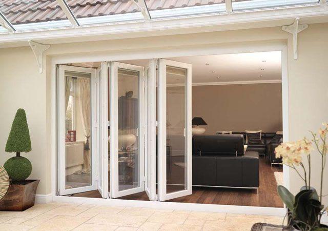 Rehau Upvc Folding Doors Exterior Patio Doors Bifold Patio Doors Folding Glass Patio Doors
