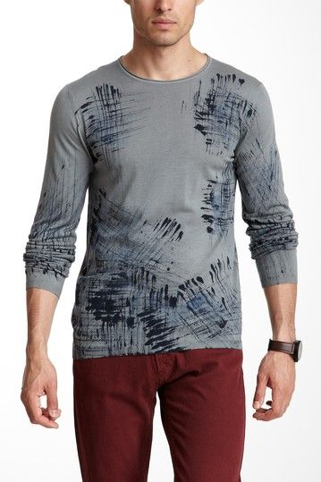 Printed Pullover by Emporio Armani on @HauteLook