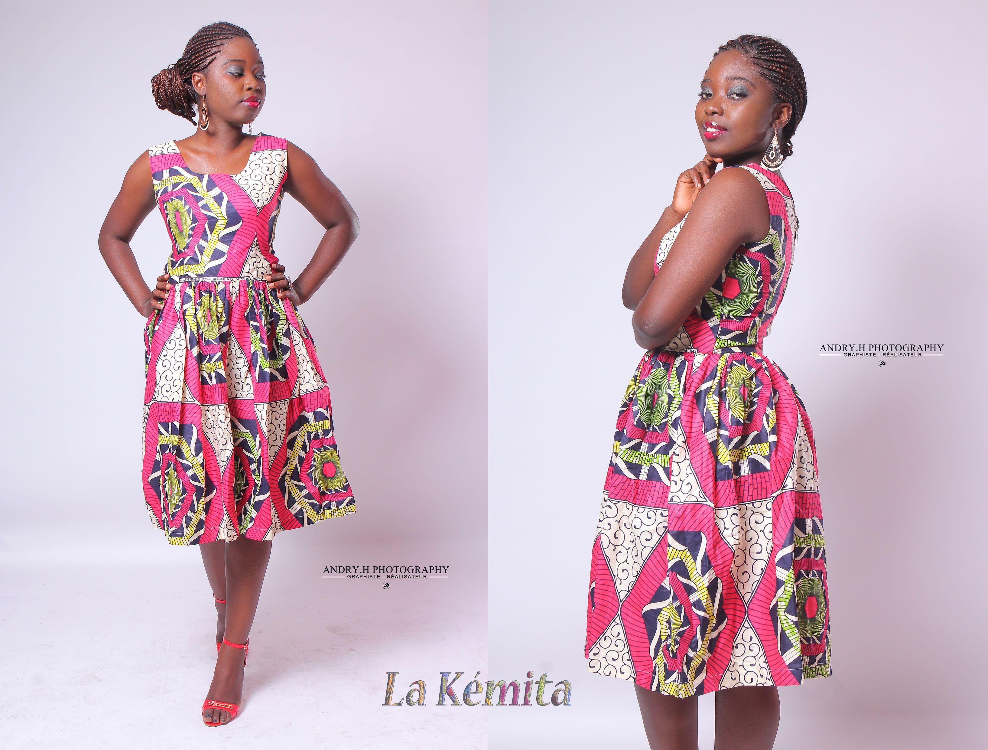 Robe - par La Kemita sur Afrikrea, €60.00