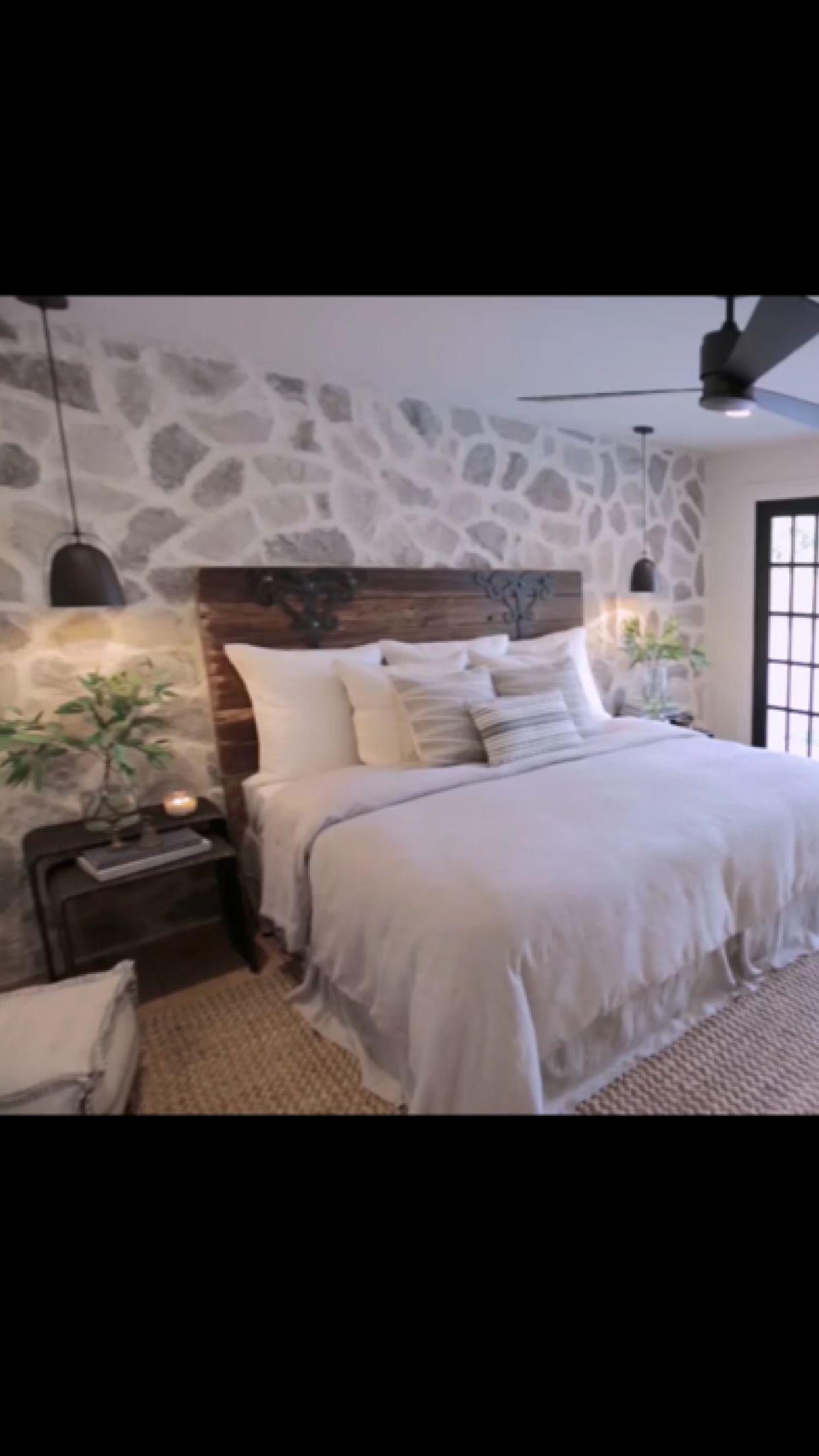 Rock wall - Fixer Upper season 5 | Fixer upper, Home decor ...