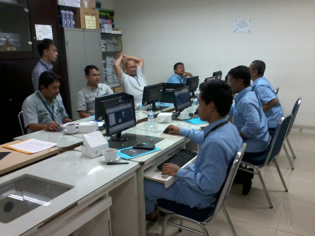 Inhouse Training Autocad 3d Mechanical Engineering Kompas Gramedia