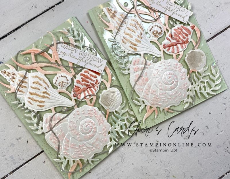 Stampin' Up! Sand & Sea + Online Winter Retreat Re