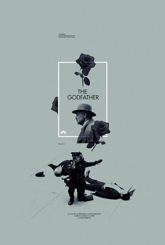 The Godfather Alternative Movie Poster