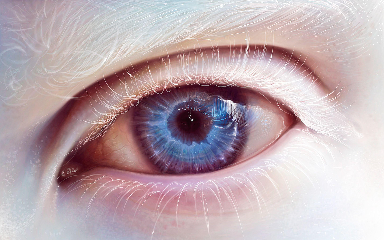 Albino Blue Eye Art Aesthetic Eyes Eye Art Eyes