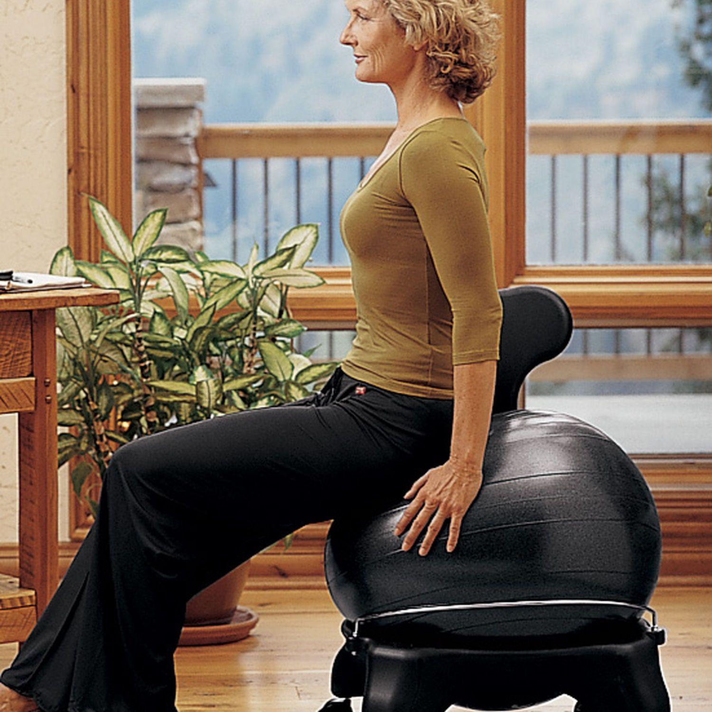 Classic Balance Ball® Chair | Ball chair, Work chair, Low ...
