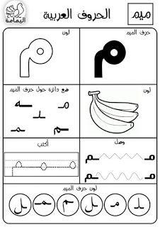 الحروف الابجدية العربية اليمامة الموقع التربوي نج حني موقع المعل م والمتعل م Learn Arabic Alphabet Arabic Alphabet For Kids Arabic Alphabet Letters