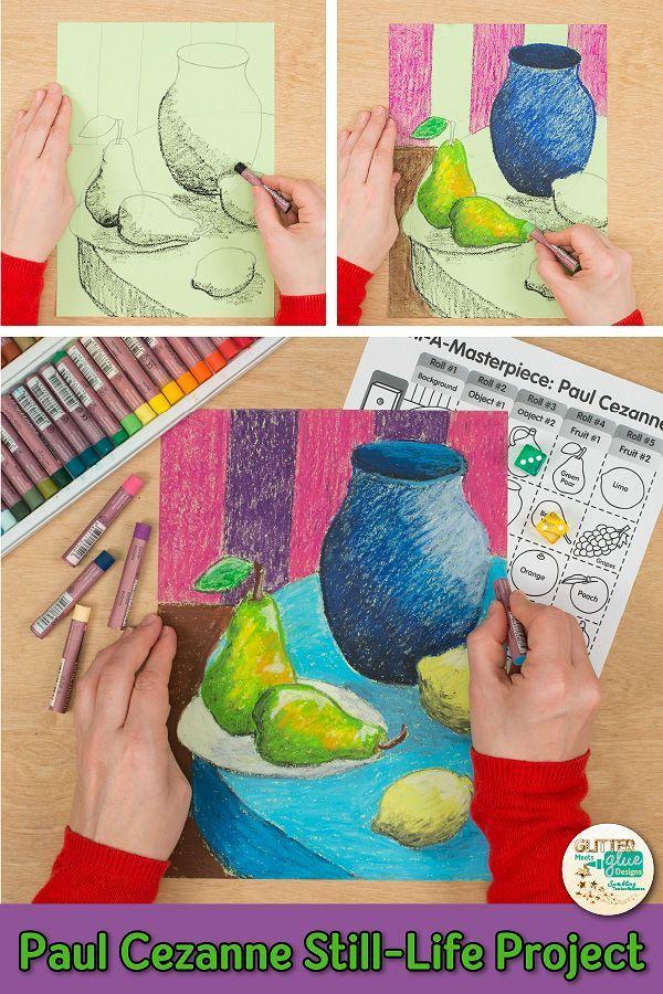 Paul Cezanne Still Life Art Game | Art Lessons byGlitter Meets Glue