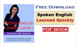 Free Download Spoken English Learned Quickly PDF Book | seeli