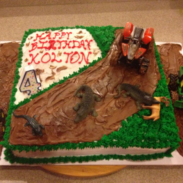 Astounding Koltons 4Th Birthday Cake Mudding Cake With Images 4Th Funny Birthday Cards Online Aboleapandamsfinfo