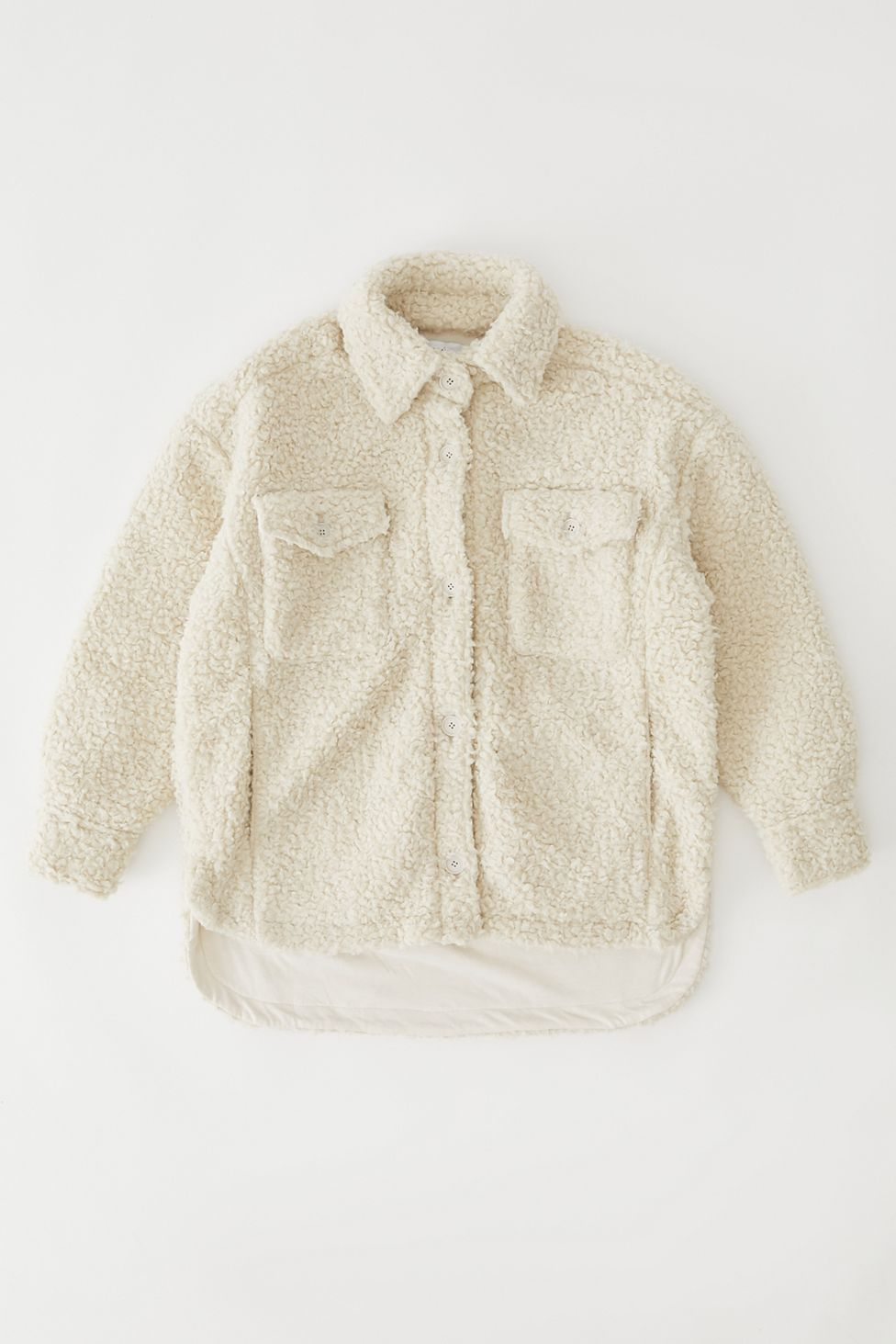 Uo Palmer Sherpa Shirt Jacket Urban Outfitters Urban Outfitters Jacket Shirt Jacket Jackets For Women [ 1463 x 976 Pixel ]