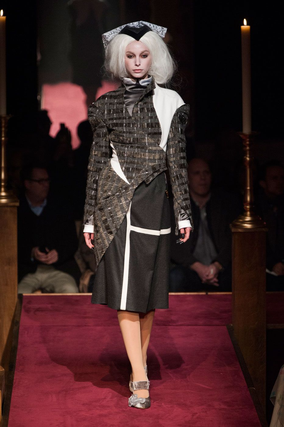 Thom Browne Built a Church, and the Fashion Crowd Came ToWorship foto