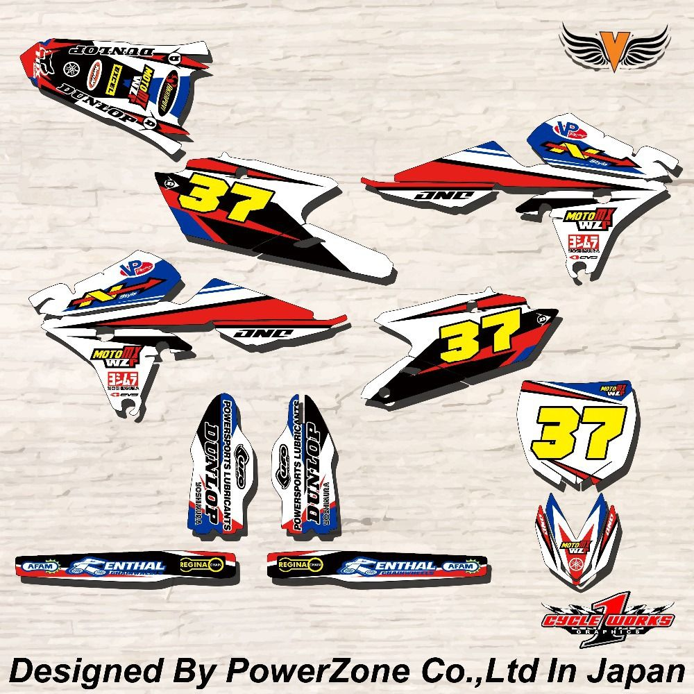 Wr Yz Yzf 125 250 400 450 Team Graphics Backgrounds Decals