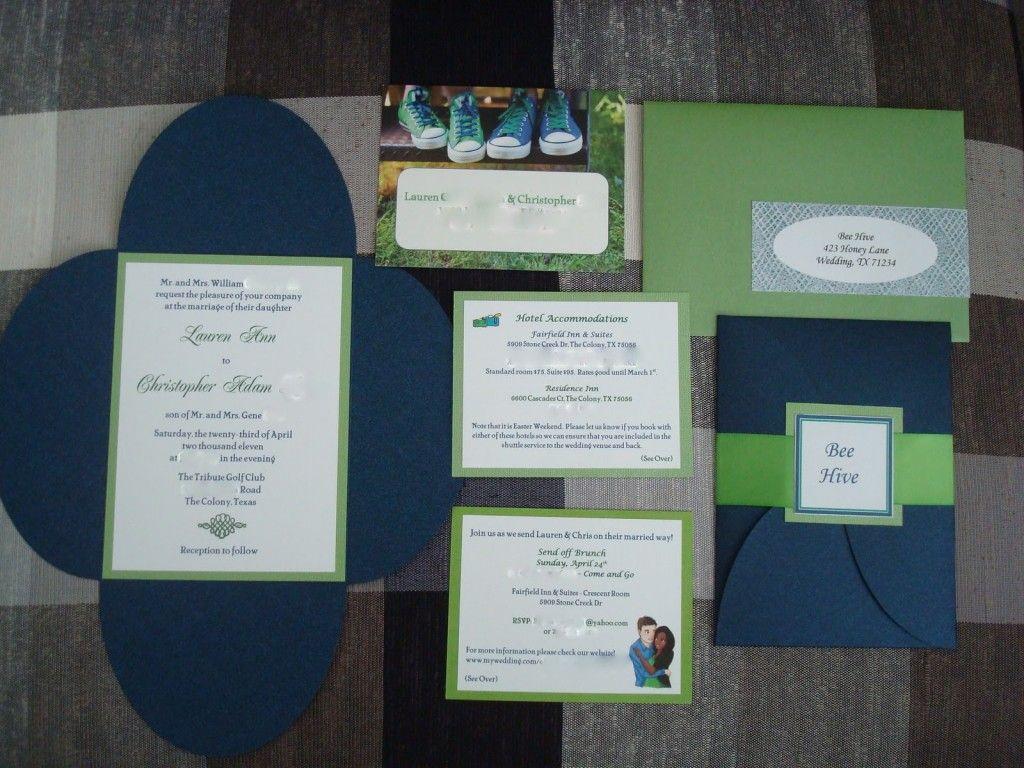 Wedding Invitation Picture Custom Invitations Make Your Own ...
