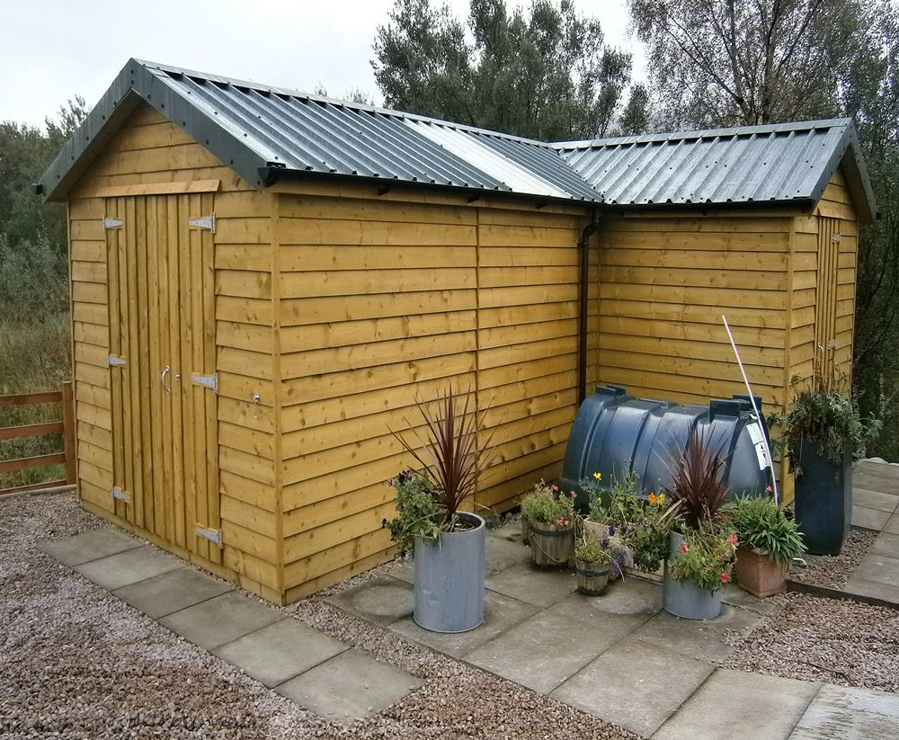 Image result for l shaped shed summer house pinterest for L shaped shed