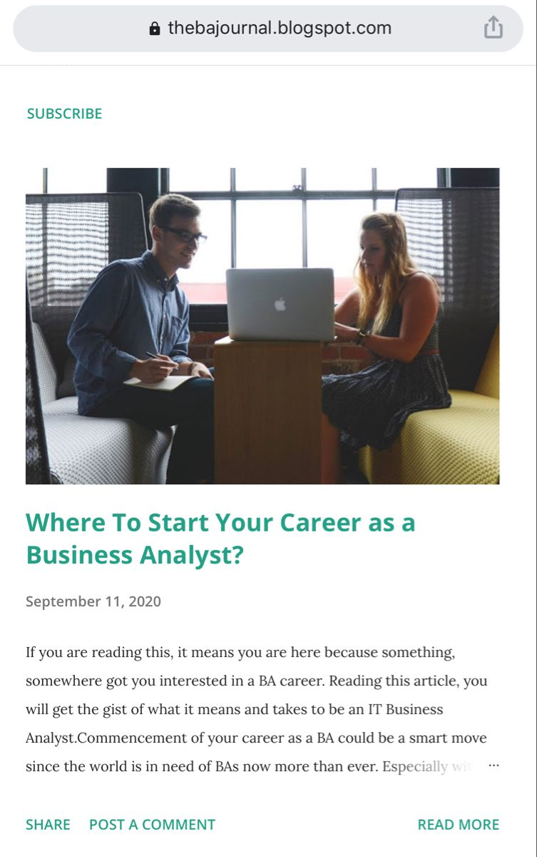 Do you know what being a #business #analyst means? Is it right for you? Interested in getting to know where yo get started with one of the most #rewarding #careers in the #world ? Check out my blog post! #technology #tech #business #businessanalysis #ba #quotes #postoftheday #thebajournal