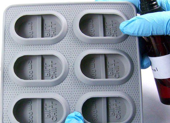 "/""Chill pill/"" plastic soap mold soap making mold mould"