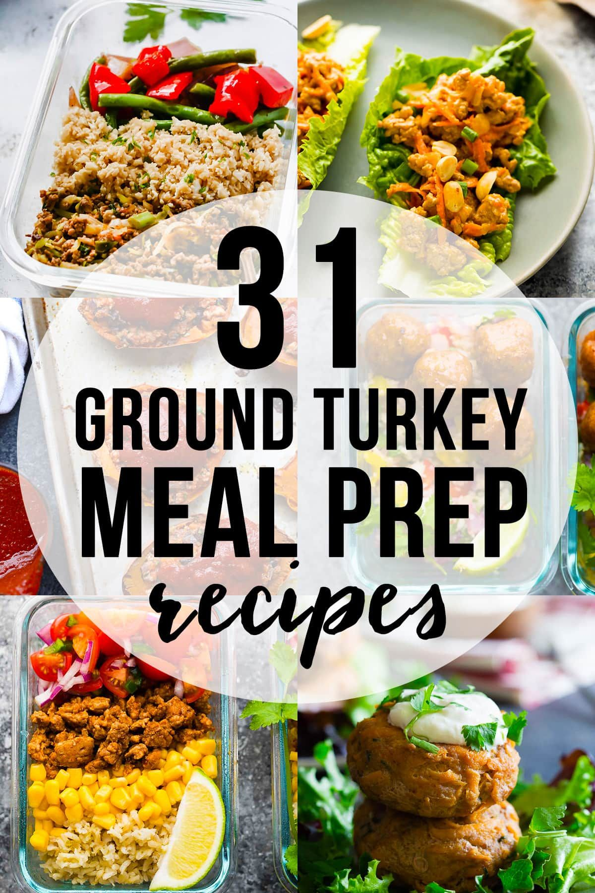 31+ Healthy Ground Turkey Meal Prep Recipe Ideas