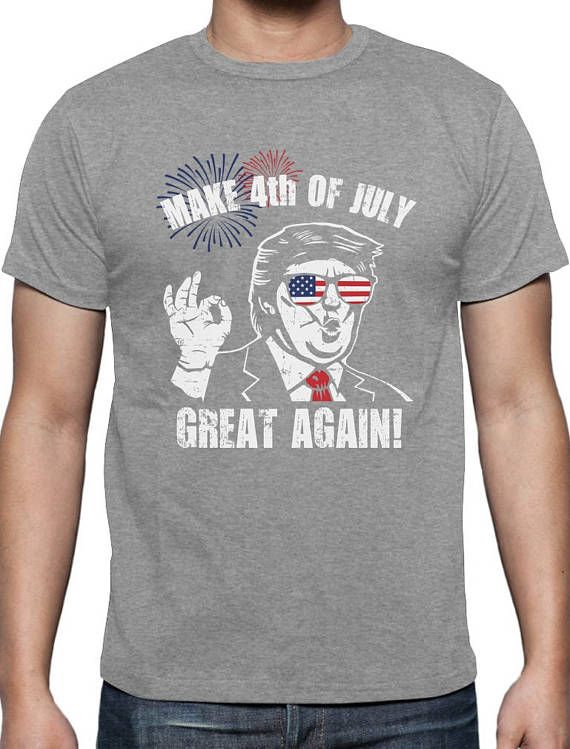 Make 4th Of July Great Again Donald Trump Funny Patriot Men S