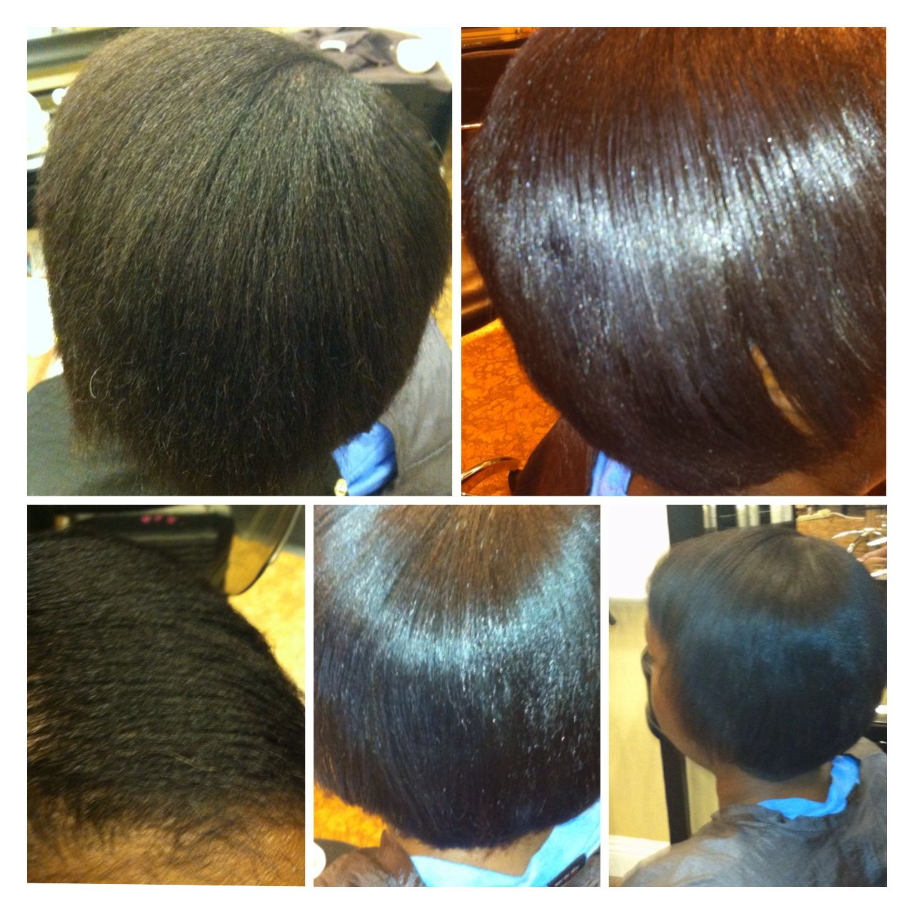 Relaxer Before and After  Relaxers  Pinterest  Relaxer and