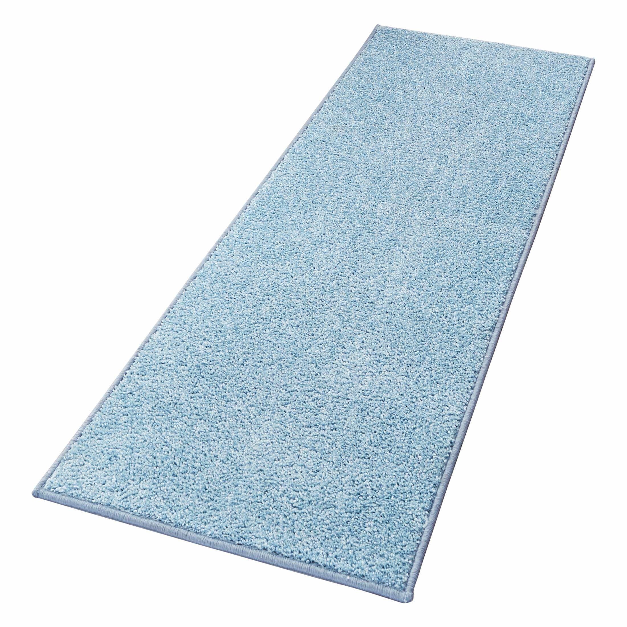 Läufer »Pure 100« blau, B/L: 80x200cm, 13mm, fußbodenheizungsgeeignet, strapazierfähig, Hanse Home Jetzt bestellen unter: https://moebel.ladendirekt.de/heimtextilien/teppiche/laeufer/?uid=0902ee71-191c-5b08-b760-0e1142edddc3&utm_source=pinterest&utm_medium=pin&utm_campaign=boards #laeufer #heimtextilien #teppiche