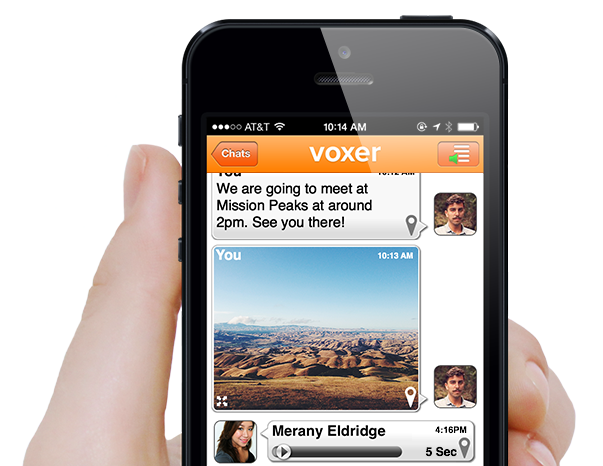 Voxer is Voicemail 2.0. Or maybe it's texting 2.0. Or