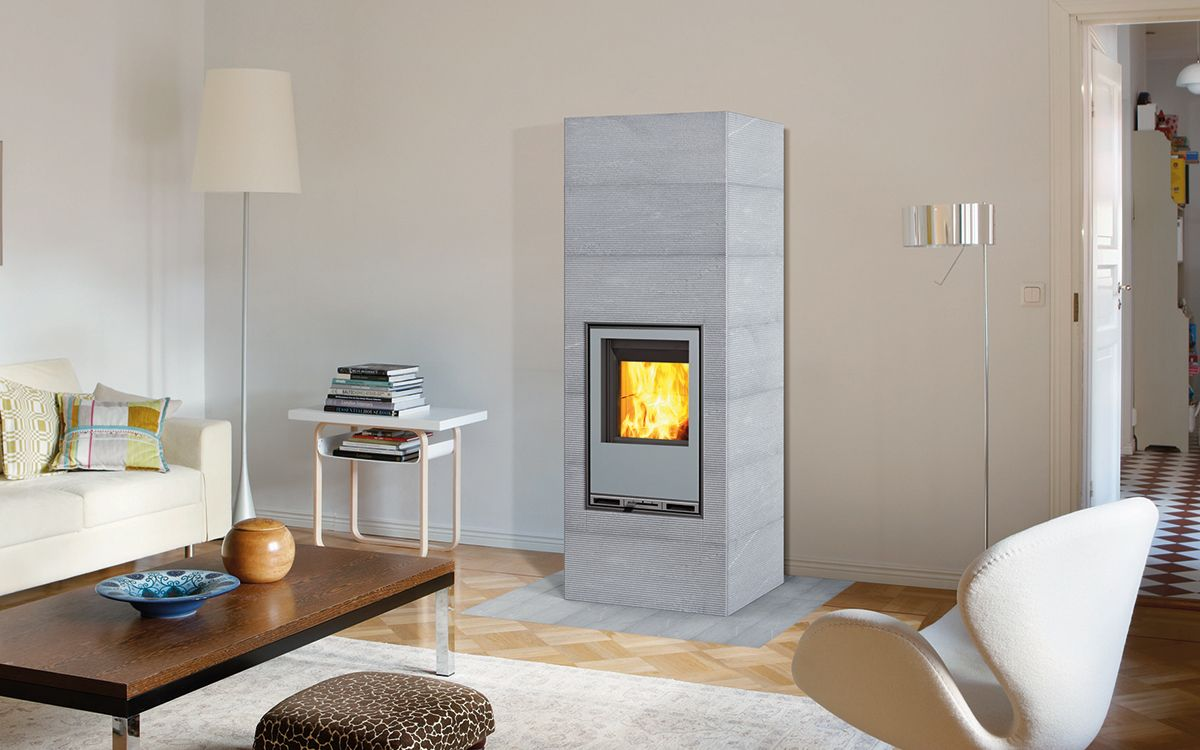 hiisi ein moderner specksteinofen f r moderne einrichtungen tulikivi speckstein. Black Bedroom Furniture Sets. Home Design Ideas