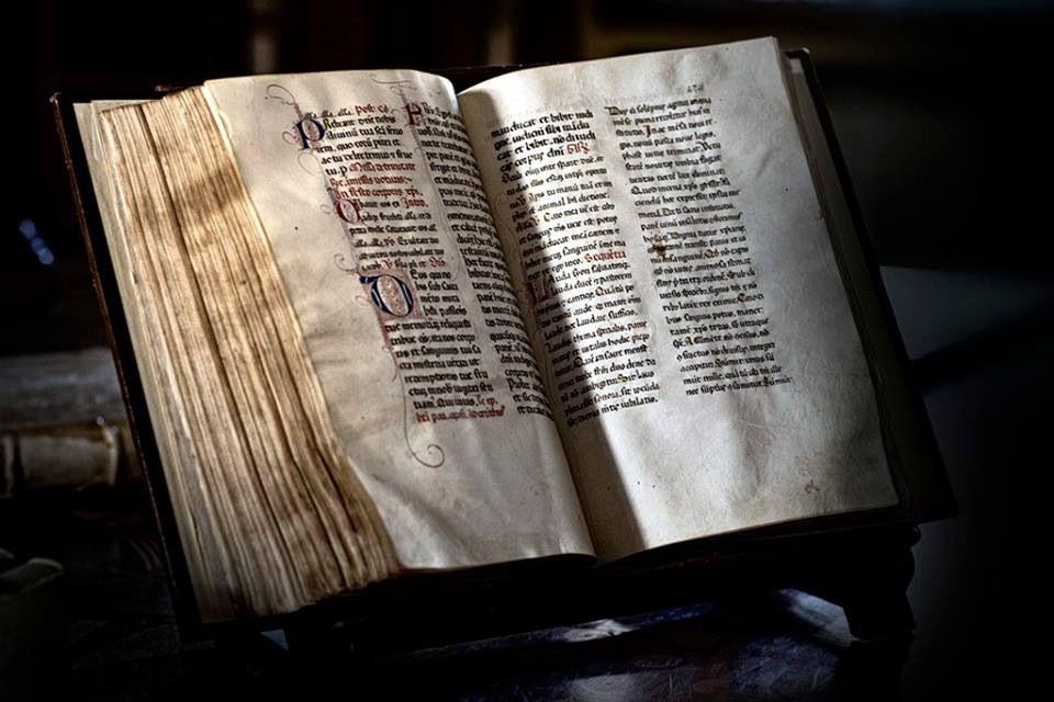 Códice del Medioevo tardío. Tomado de Libri antichi online