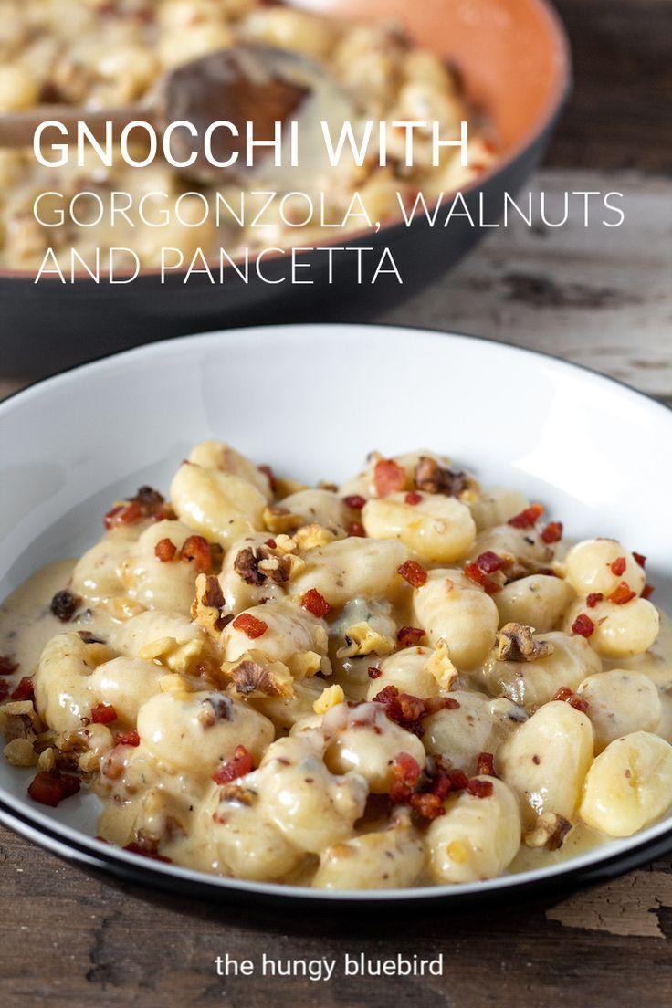 Photo of Gnocchi with Creamy Gorgonzola, Walnuts and Crispy Pancetta