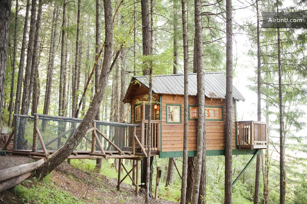 The Cottage Airbnb Treehouse Cabins Tree House
