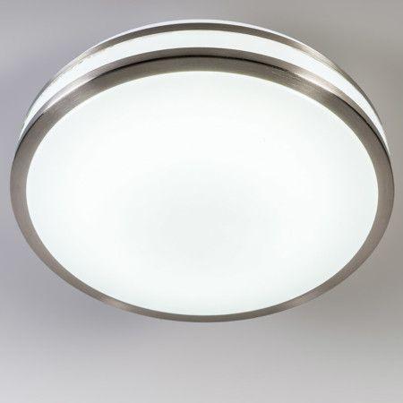 #Deckenleuchte Avanti I 12W #LED #RGB stahl Die perfekte #Leuchte für jede Situation. Mit dieser intelligenten #Deckenleuchte bestimmen Sie, mit der Fernbedienung, die #Farbtemperatur des Lichts. Schalten Sie mit einem Knopfdruck von warmweiß nach kaltweiß um. Sie können die Farbtemperatur in 13 Schritten von 3000K bis 6000K umstellen.  #Lampenundleuchten.at #Lampe
