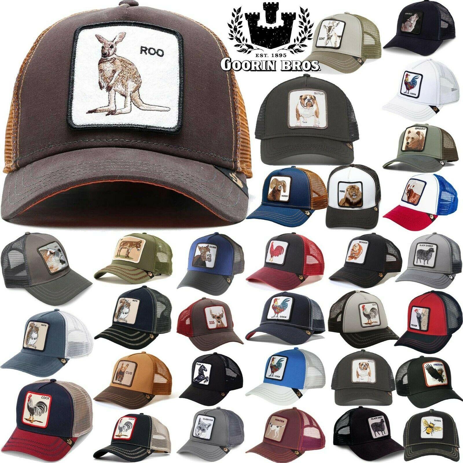 GOORIN BROS TRUCKER Hat Snapback Cap ANIMAL FARM Rooster Black