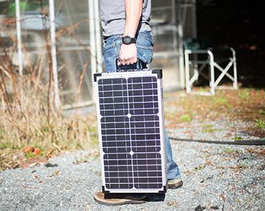 Overland Solar 90 Watt Folding Solar Kit Adventure Ready Solar Cell Solar Technology Solar Panels