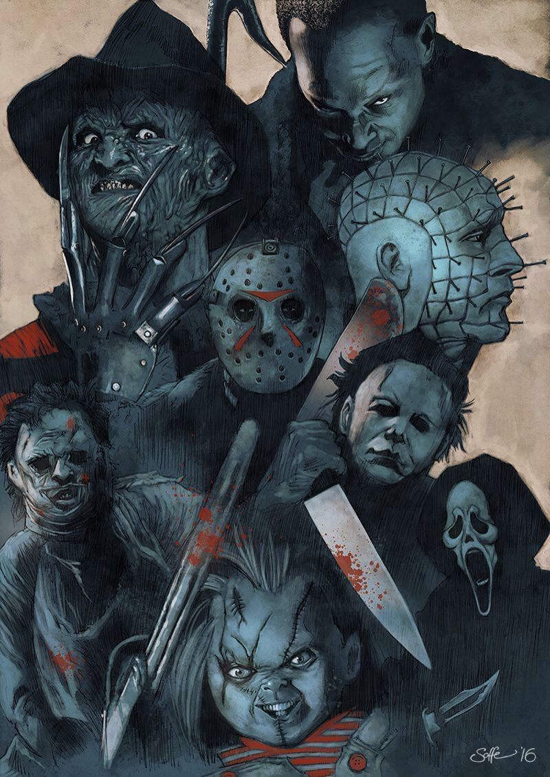 Faces of Hell. Basis of Hell. No Blades Like Home. Hells Command. Slasher Force. To Sharp. Never-Dead. Infinite Life. Commanders of Hell. Hell Raisers Box. Or Hell Children. (Leader is Hellraiser/Pinhead.