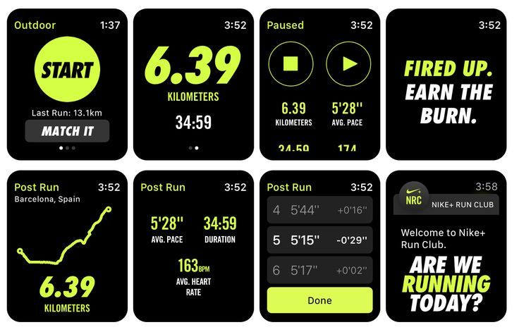 Leer pronto germen  Another awesome feature for those with a Apple WatchNike Run Club watch app  | Apple watch app design, Apple watch nike, Nike app