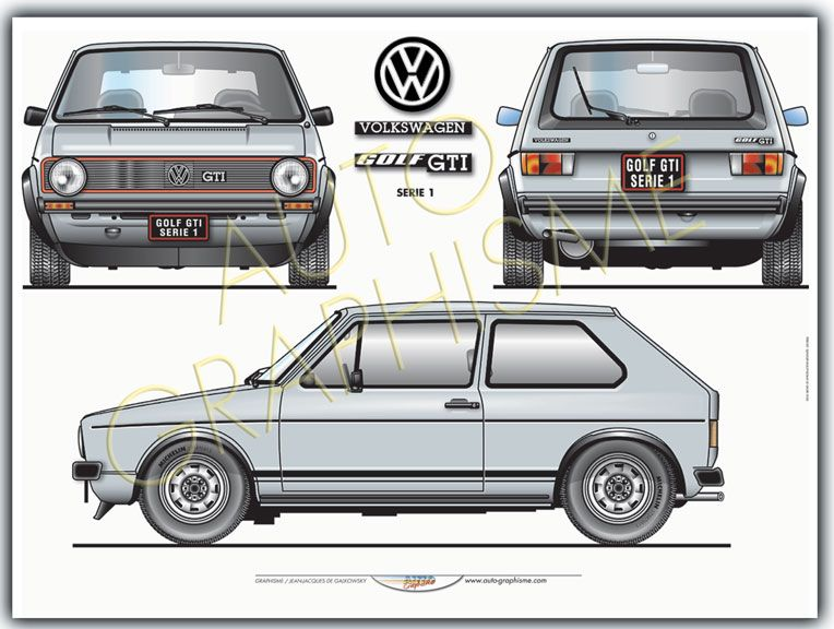 volkswagen golf gti serie 1 autos pinterest volkswagen golf volkswagen et golf. Black Bedroom Furniture Sets. Home Design Ideas